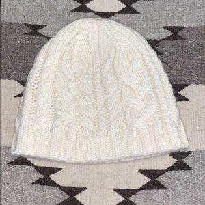 J.Crew Cream Winter Hat